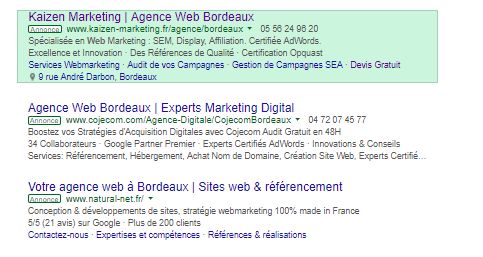 agence google adwords bordeaux